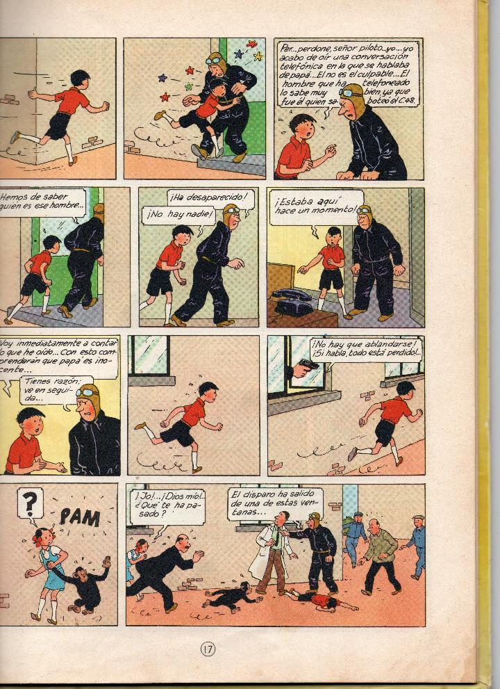 Cómics: Las aventuras de Jo,Zette y Jocko.El testamento de Mr Pump,Hergé primera edición 1970 - Foto 7 - 56673800
