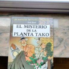 Cómics: LAS AVENTURAS DEL PROFESOR PALMERA EL MISTERIO DE LA PLANTA TAKO DICK BRIEL JUVENTUD. Lote 103223767