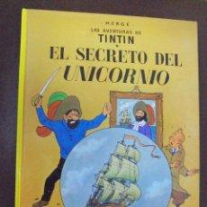 Cómics: LAS AVENTURAS DE TINTIN. EL SECRETO DEL UNICORNIO. EDITORIAL JUVENTUD. 16º EDICION. Lote 103255607