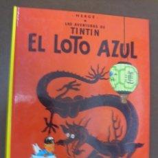 Cómics: LAS AVENTURAS DE TINTIN. EL LOTO AZUL. EDITORIAL JUVENTUD. 14º EDICION. Lote 103255667