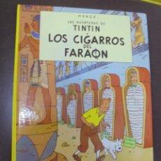 Cómics: LAS AVENTURAS DE TINTIN. LOS CIGARROS DEL FARAON. EDITORIAL JUVENTUD. 15º EDICION. Lote 103255783