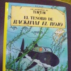 Cómics: LAS AVENTURAS DE TINTIN. EL TESORO DE RACKHAM EL ROJO. EDITORIAL JUVENTUD. 16º EDICION. Lote 103255823