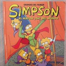 Cómics: SIMPSON - EL MAYOR ¡OH! DEL MUNDO - NUM 13. Lote 103311043