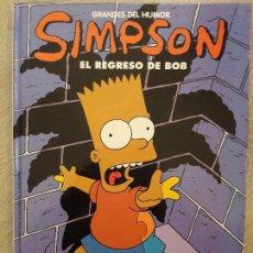 Cómics: SIMPSON - EL REGRESO DE BOB - NUM 12. Lote 103311263