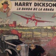 Cómics: HARRY DICKSON--LA BANDA DE LA ARAÑA. Lote 103326271