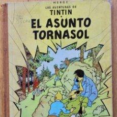 Cómics: TINTÍN EL ASUNTO TORNASOL. 2ª EDICIÓN. LOMO ROJO. HERGÉ. EDIT. JUVENTUD. 1965.. Lote 103709287