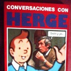 Cómics: CONVERSACIONES CON HERGÉ. EDITORIAL JUVENTUD. Lote 103977815