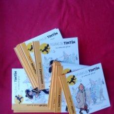 Cómics: 12 LIBROS FIGURAS DE TINTIN 1 AL 12 MOULINSART 3100 GRS ENVÍO 5€*. Lote 104032763