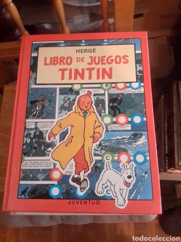LIBRO DE JUEGOS DE TINTIN (Tebeos y Comics - Juventud - Tintín)