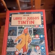 Cómics: LIBRO DE JUEGOS DE TINTIN. Lote 104690567