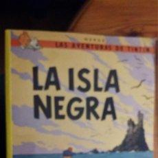 Cómics: LA ISLA NEGRA, LAS AVENTURAS DE TINTIN 1996, JUVENTUD 14ª EDICION. Lote 104916599