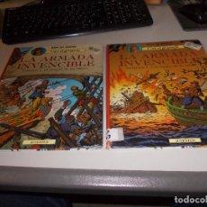 Comics : CORI EL GRUMETE. LA ARMADA INVENCIBLE. VOLUMEN 1 Y 2. JUVENTUD. Lote 105077015