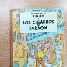 Cómics: TINTIN LOS CIGARROS DEL FARAON (2ª EDICION - 1965). Lote 105084583