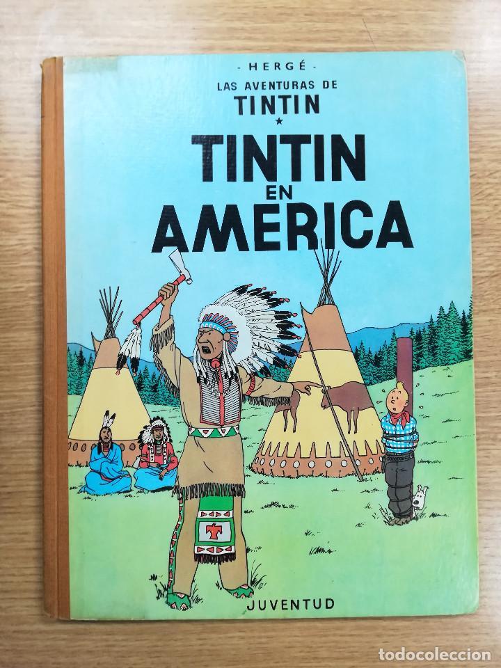 TINTIN EN AMERICA (1ª EDICION - 1968) (Tebeos y Comics - Juventud - Tintín)