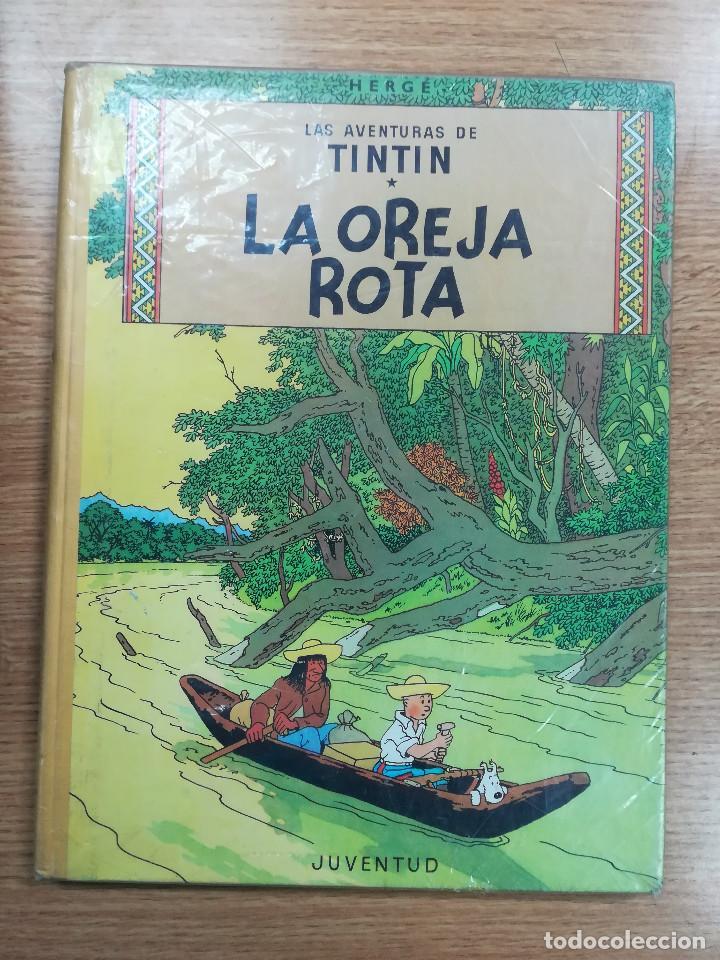 TINTIN LA OREJA ROTA (3ª EDICION - 1969) (Tebeos y Comics - Juventud - Tintín)