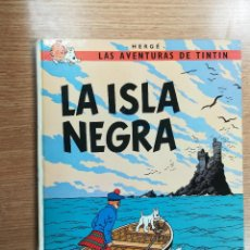 Cómics: TINTIN LA ISLA NEGRA CARTONE (4ª EDICION - 1974). Lote 105090419