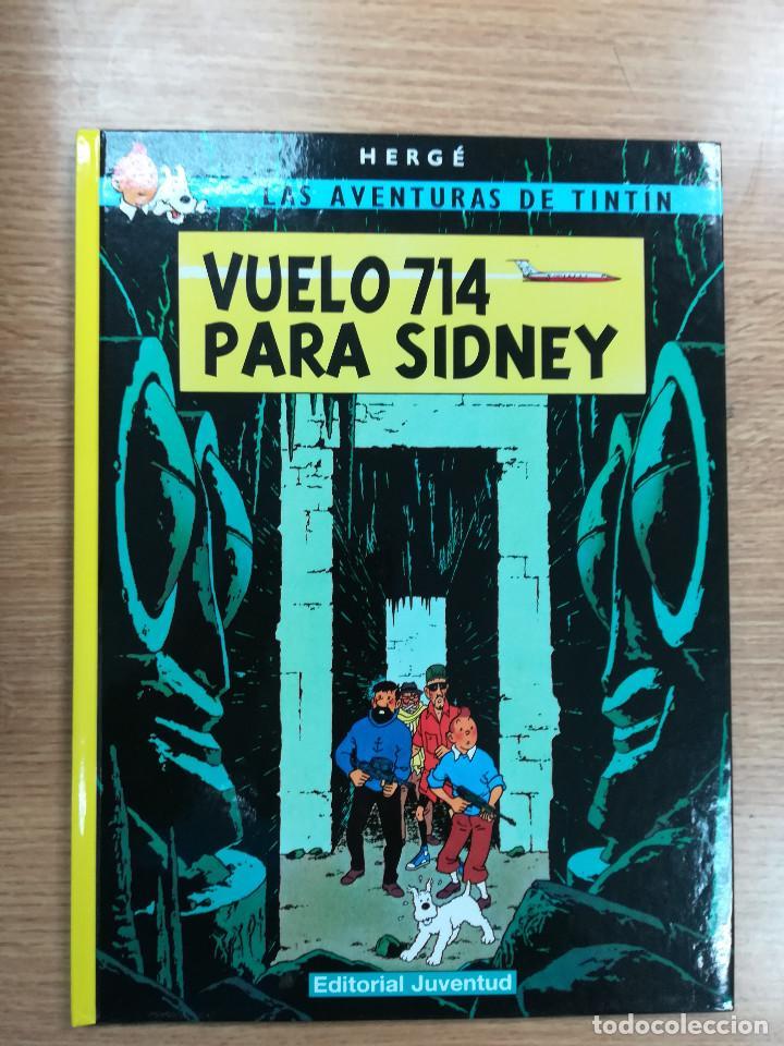 TINTIN VUELO 714 PARA SIDNEY CARTONE (23ª EDICION - 2011) (Tebeos y Comics - Juventud - Tintín)