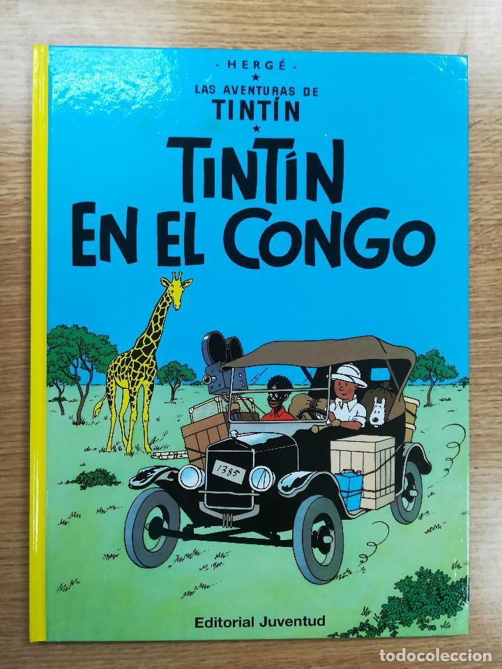 TINTIN EN EL CONGO CARTONE (25ª EDICION - 2012) (Tebeos y Comics - Juventud - Tintín)