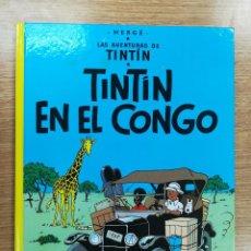 Cómics: TINTIN EN EL CONGO CARTONE (25ª EDICION - 2012). Lote 105090927