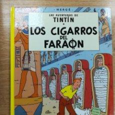 Cómics: TINTIN LOS CIGARROS DEL FARAON CARTONE (27ª EDICION - 2012). Lote 105091007