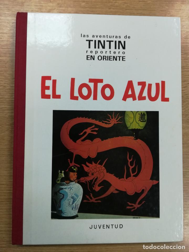 TINTIN EL LOTO AZUL (EDICION FACSIMIL - B/N - 1993) (Tebeos y Comics - Juventud - Tintín)