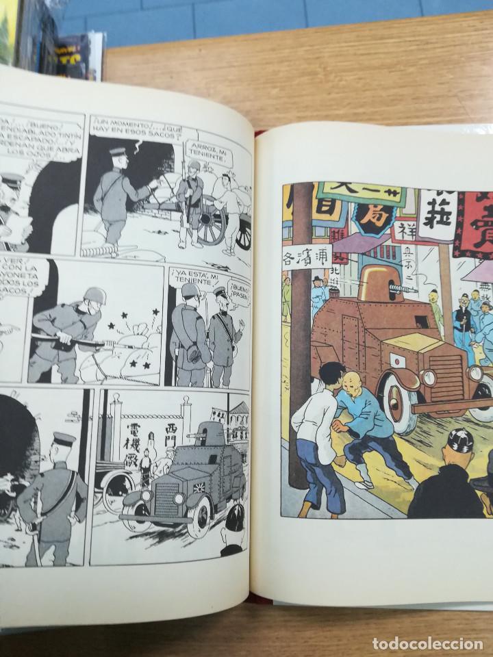 Cómics: TINTIN EL LOTO AZUL (EDICION FACSIMIL - B/N - 1993) - Foto 3 - 105113779