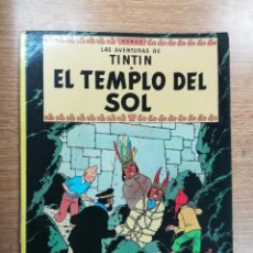 Cómics: TINTIN EL TEMPLO DEL SOL RUSTICA (4ª EDICION - ABRIL 1978). Lote 105199287