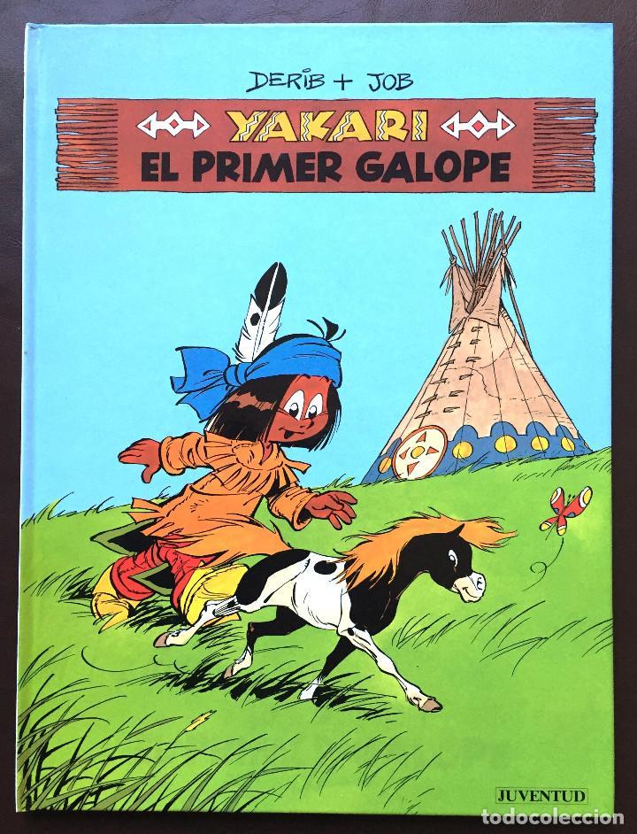 YAKARI - EL PRIMER GALOPE - Nº 16 - ED. JUVENTUD - 1ª EDICIÓN 1993 - TAPA DURA NUEVO (Tebeos y Comics - Juventud - Yakary)