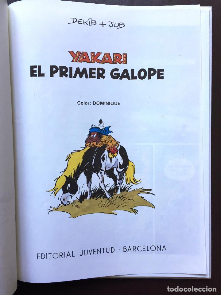 Cómics: YAKARI - EL PRIMER GALOPE - Nº 16 - Ed. JUVENTUD - 1ª EDICIÓN 1993 - Tapa Dura NUEVO - Foto 2 - 105328807