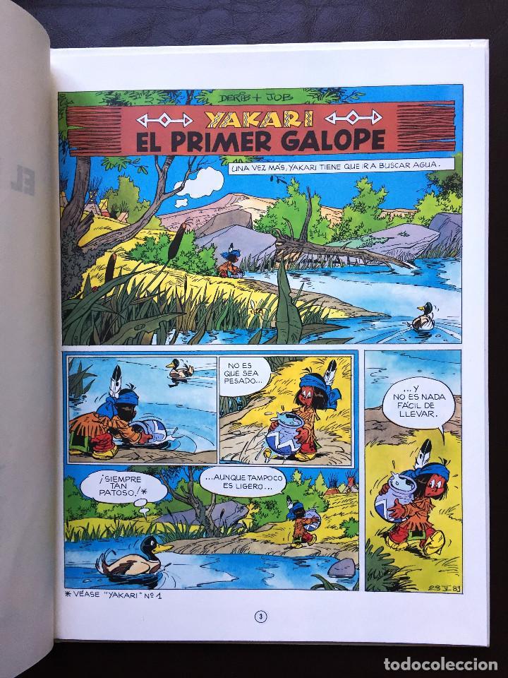 Cómics: YAKARI - EL PRIMER GALOPE - Nº 16 - Ed. JUVENTUD - 1ª EDICIÓN 1993 - Tapa Dura NUEVO - Foto 4 - 105328807