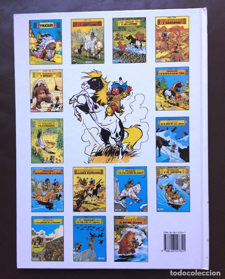 Cómics: YAKARI - EL PRIMER GALOPE - Nº 16 - Ed. JUVENTUD - 1ª EDICIÓN 1993 - Tapa Dura NUEVO - Foto 5 - 105328807