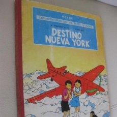 Cómics: AVENTURAS DE JO ZETTE Y JOCKO.DESTINO NUEVA YORK.HERGE CREADOR DE TINTIN.JUVENTUD.PRIMERA ED. 1970.. Lote 105340187