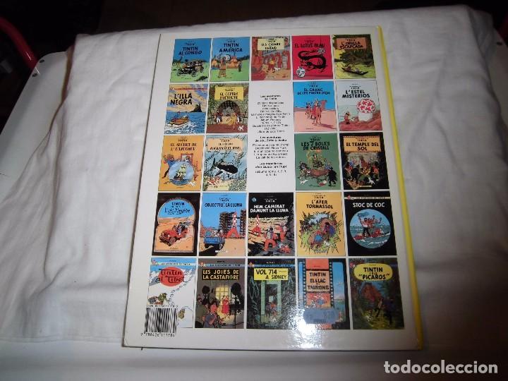 Cómics: TINTIN.EN CATALAN.EL CEPTRE D`OTTOKAR.HERGE EDITORIAL JUVENTUD 1989 - Foto 8 - 105346943