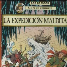 Cómics: CORI EL GRUMETE: LA EXPEDICIÓN MALDITA, 1989, JUVENTUD, BUEN ESTADO. Lote 105420251