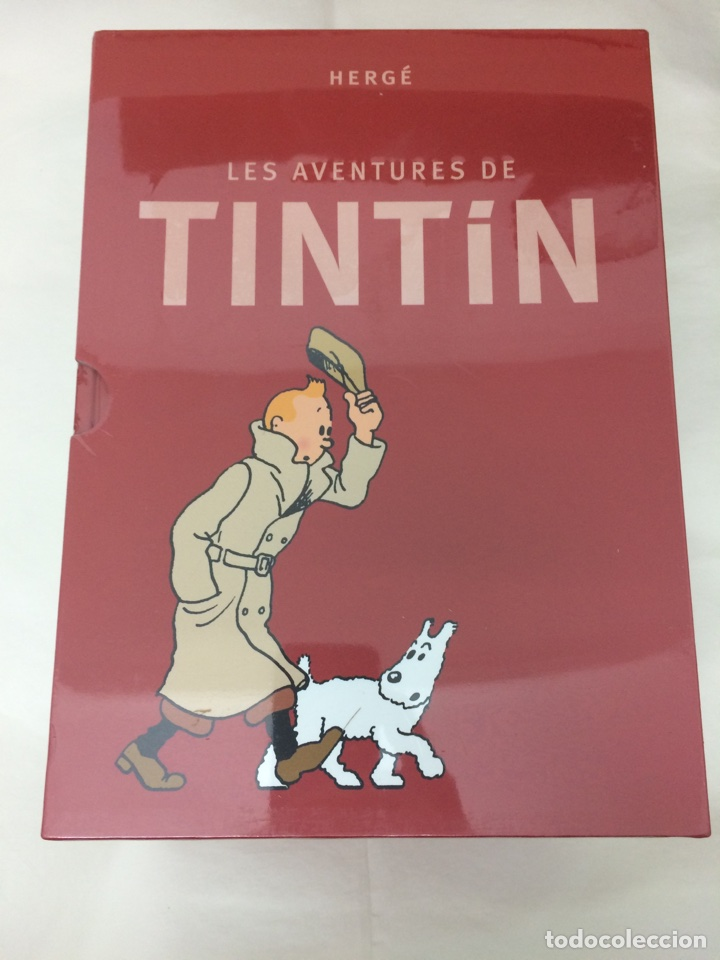 TINTIN COFRE INTEGRAL LES AVENTURES DE TINTIN (CATALÀ) (Tebeos y Comics - Juventud - Tintín)