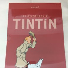 Cómics: TINTIN COFRE INTEGRAL LES AVENTURES DE TINTIN (CATALÀ). Lote 105897223