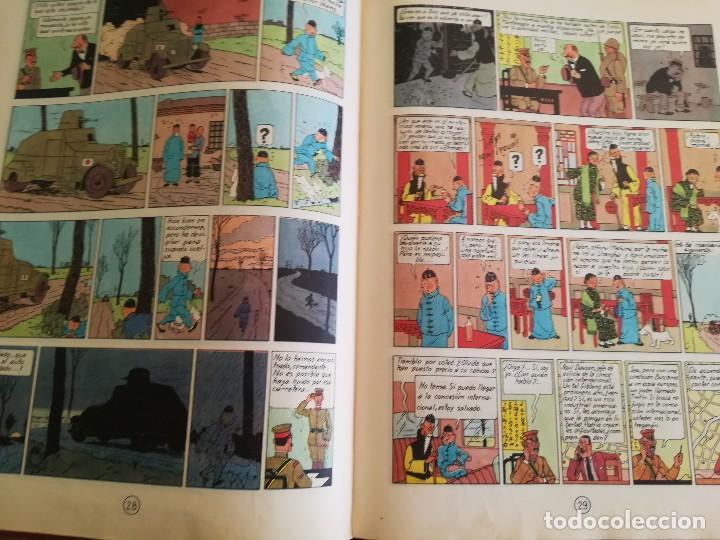 Cómics: El loto azul - Hergé - Las aventuras de Tintín - 3ª edición, 1970 - Foto 7 - 106770335
