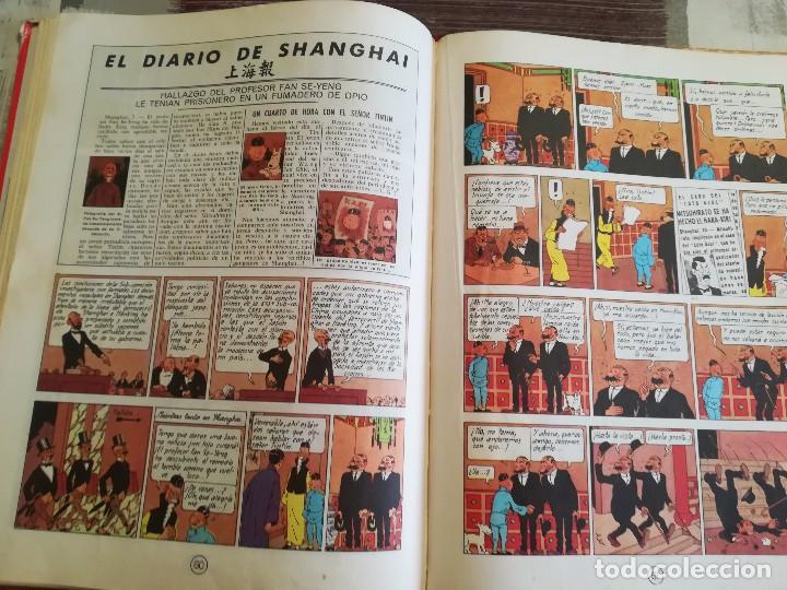 Cómics: El loto azul - Hergé - Las aventuras de Tintín - 3ª edición, 1970 - Foto 8 - 106770335