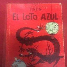 Cómics: TINTIN EL LOTO AZUL 3 EDICION DE 1970 NORMAL ESTADO REF.4. Lote 107256015
