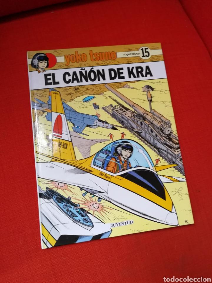 YOKO TSUNO-EL CAÑÓN DE KRA.EDITORIAL JUVENTUD.1°EDICIÓN (Tebeos y Comics - Juventud - Yoko Tsuno)