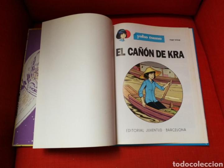Cómics: YOKO TSUNO-EL CAÑÓN DE KRA.EDITORIAL JUVENTUD.1°EDICIÓN - Foto 2 - 107638822