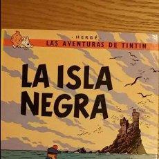 Cómics: LAS AVENTURAS DE TINTIN.LA ISLA NEGRA. JUVENTUD.12 EDICION.1989. Lote 107674311