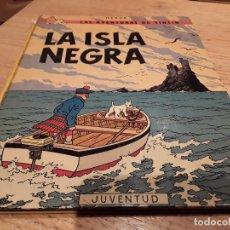 Cómics: TINTÍN ISLA NEGRA TAPA DURA, 1974. Lote 107731003