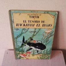 Cómics: TINTIN - EL TESORO DE RACKHAM EL ROJO - EDITORIAL JUVENTUD DE 1967. Lote 107817723