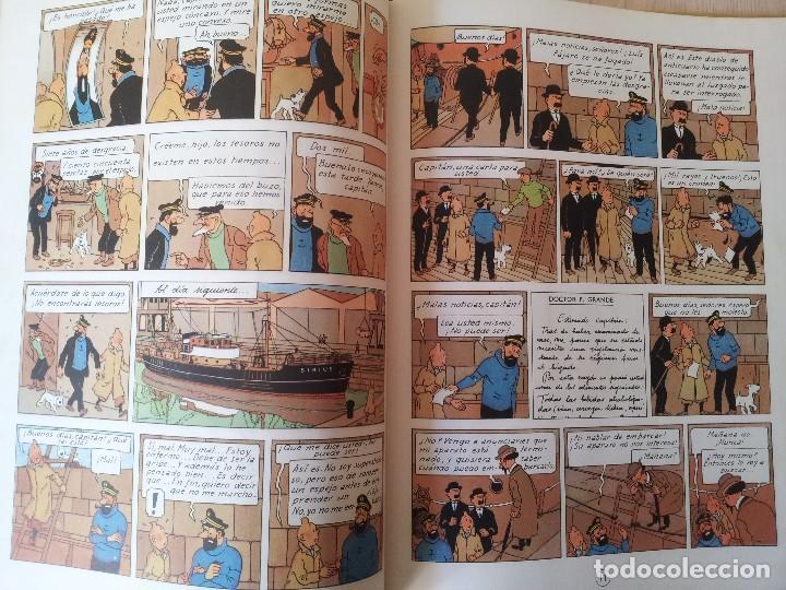 Cómics: TINTIN - EL TESORO DE RACKHAM EL ROJO - EDITORIAL JUVENTUD DE 1967 - Foto 3 - 107817723