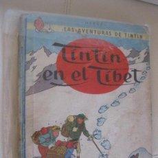 Cómics: TINTÍN EN EL TÍBET , PRIMERA EDICIÓN 1962 EDITORIAL JUVENTUD. Lote 107828379