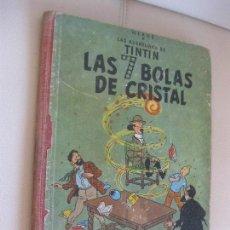 Cómics: TINTÍN ,LAS 7 SIETE BOLAS DE CRISTAL, PRIMERA EDICIÓN 1961 EDITORIAL JUVENTUD. Lote 107828691