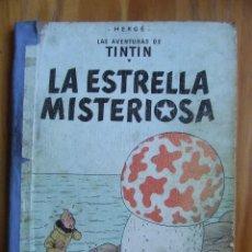 Cómics: LAS AVENTURAS DE TINTIN - LA ESTRELLA MISTERIOSA – LOMO DE TELA – 2ª EDICIÓN. Lote 107883391