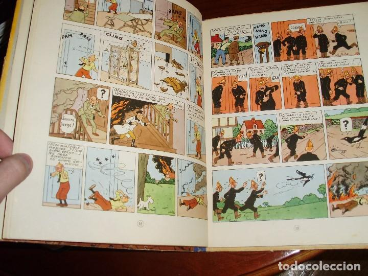 Cómics: TINTIN PRIMERA EDICION ISLA NEGRA 1961 JUVENTUD .... 3-2-1... ¡¡¡ BOOOM !!! - Foto 4 - 108541439