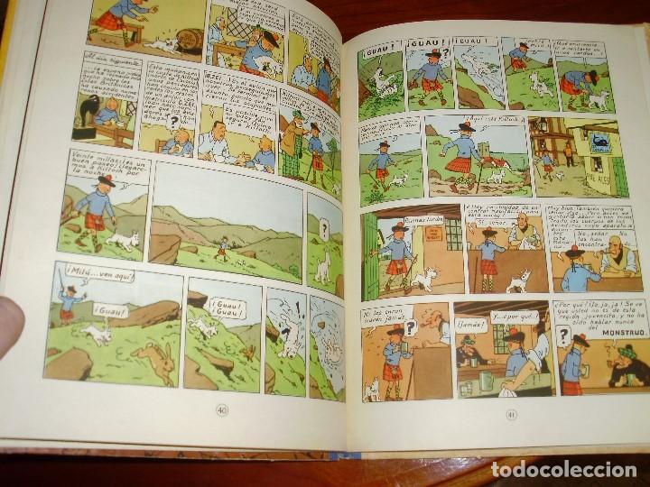 Cómics: TINTIN PRIMERA EDICION ISLA NEGRA 1961 JUVENTUD .... 3-2-1... ¡¡¡ BOOOM !!! - Foto 5 - 108541439